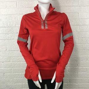 Gap Fit moto 1/2 zip reflective pullover jacket